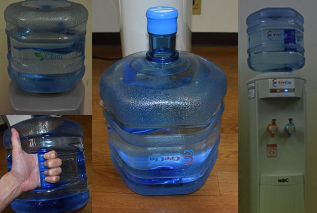 回収型リターナブルのボトル
